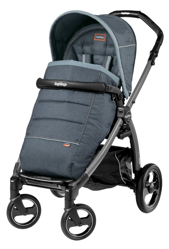 Прогулочная коляска Peg Perego Book S Pop Up Completo - Blue Denim