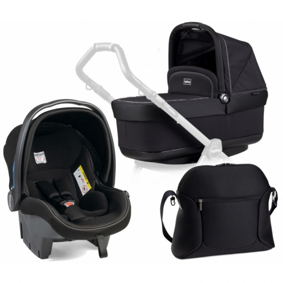 Набор 3 в 1 Peg Perego Set Modular Pop Up (без шасси) - Onyx