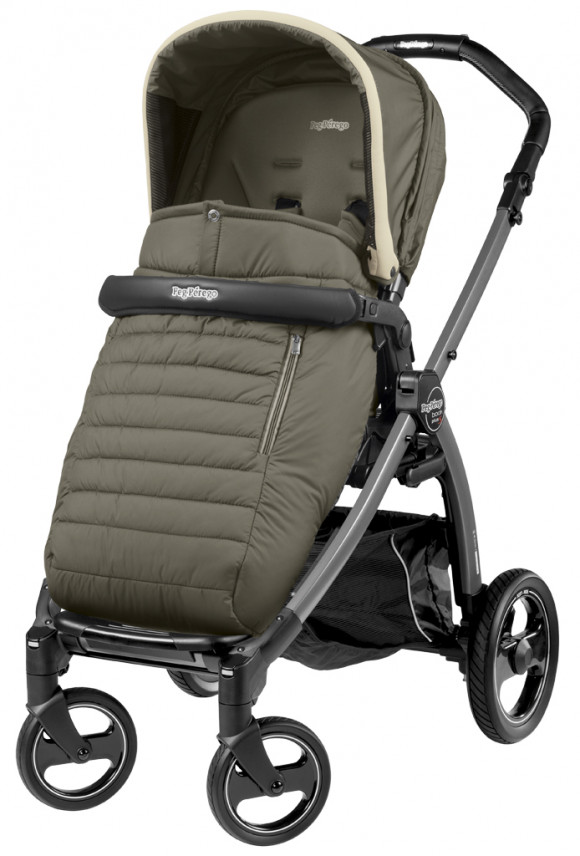 Прогулочная коляска Peg Perego Book S Pop Up Completo (шасси Jet) - Breeze Kaki