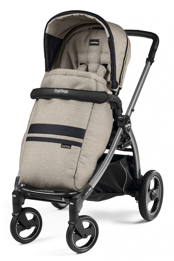 Прогулочная коляска Peg Perego Book S Pop Up Completo - Luxe Ecru