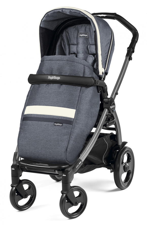 Прогулочная коляска Peg Perego Book 51 Pop Up Completo (шасси White/Black) - Luxe Mirage